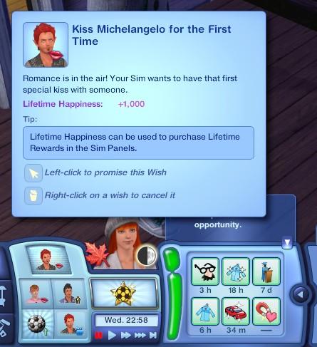 3.09.76 - kiss Michelangelo wish
