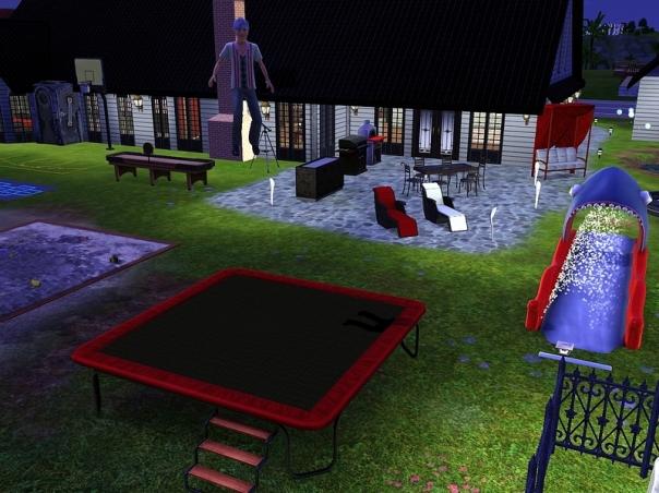 5.05.87 - Flamingo trampoline